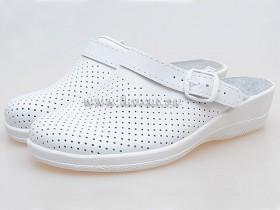 Обувь для поваров женская, белая